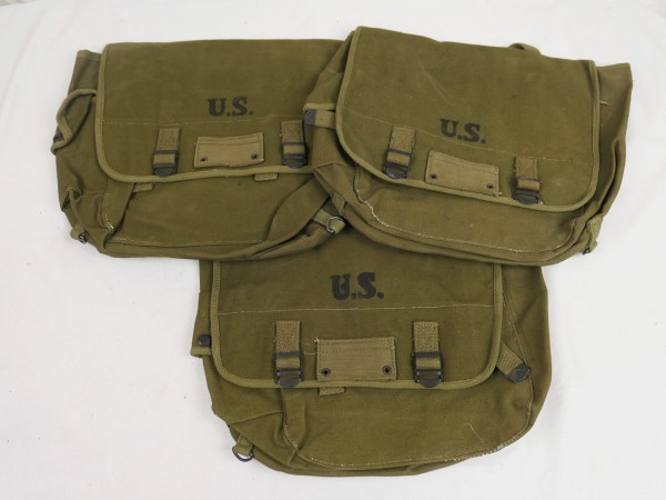 Typ US Army WW2 M-1936 Musette Bag / Kampftasche M36 oliv