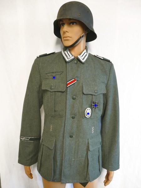 Wehrmacht M1940 Feldbluse GROßDEUTSCHLAND Unteroffizier M40 Uniform effektiert Gr.50