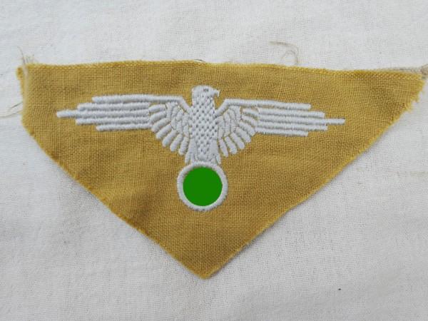 Waffen SS Ärmeladler für Tropen Hemd Ausführung für Mannschaften Elite