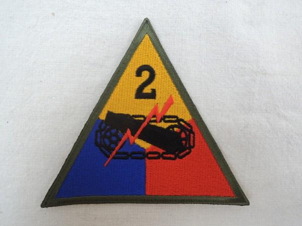 Ärmelabzeichen 2nd Armored Division