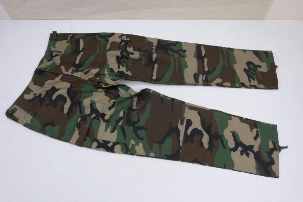 US Army BDU Feldhose Ripstop Woodland Field Pants
