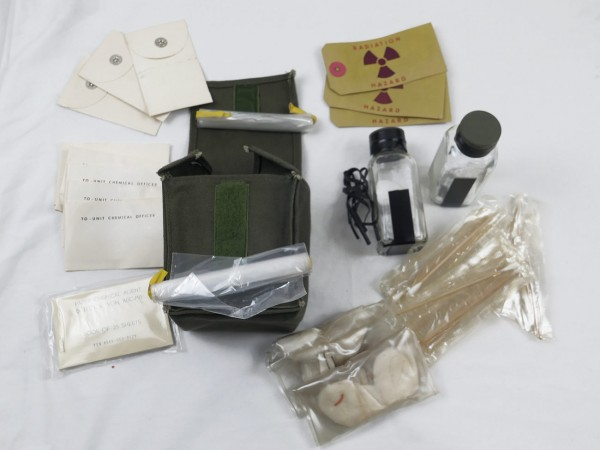 US Army Soil Sampling Kit / Bodenprobe Set Vietnam Ära
