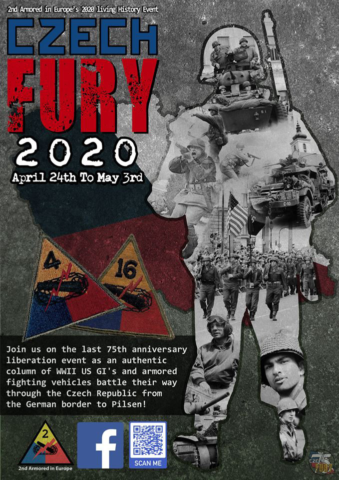 Czech Fury liberation 2020 75th anniversary
