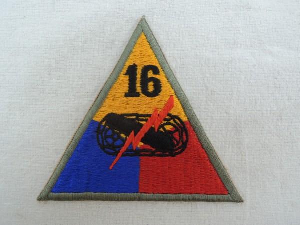 Ärmelabzeichen 16th Armored Division