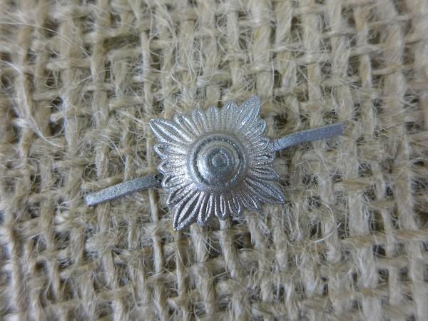 SS Elite Dienstgrad Stern Sterne Auflage für Schulterstücke Schulterklappen Silber