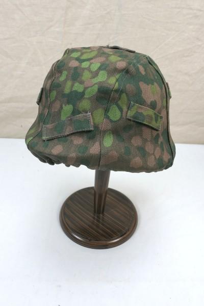 WW2 Helmbezug Helmtarnbezug M-1944 Erbsentarn für Glocke Gr. 66/68