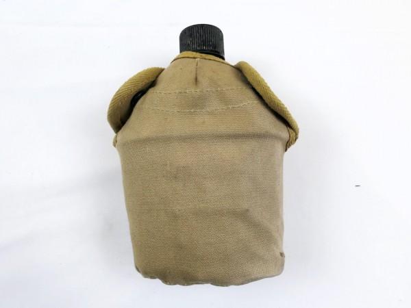 US Army Feldflasche + Feldflaschenbezug + Becher