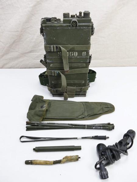 #21 US ARMY FUNKGERÄT VIETNAM RADIO RECEIVER PRC-10 + Zubehör WILLYS JEEP