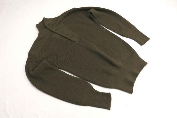 US Army Type WW2 Sweater High Neck Shirt Pullover Strickpullover 1950 Medium