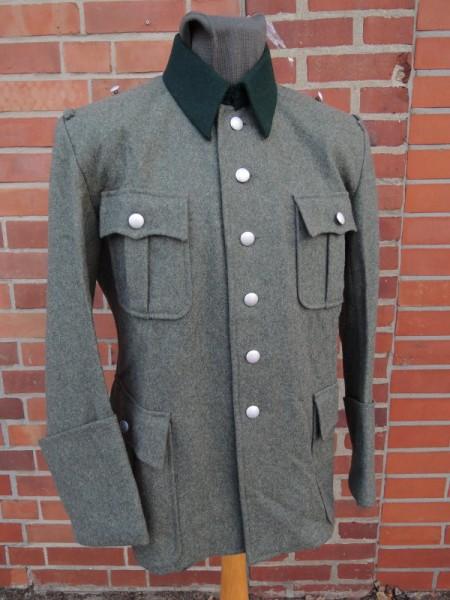 M36 Feldbluse Wolle Offizier Wehrmacht Uniformjacke