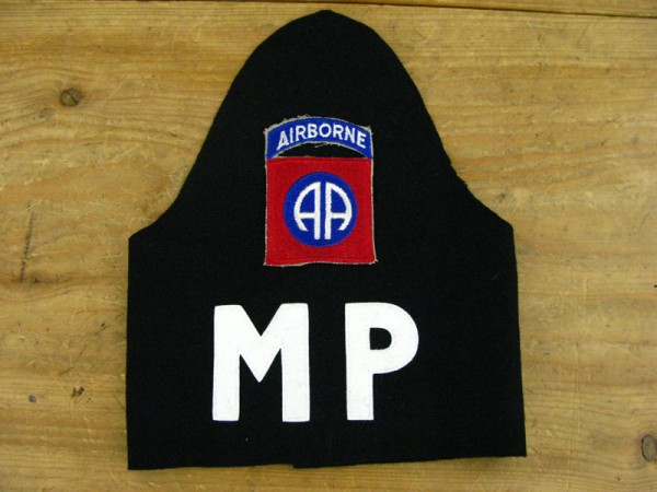 US Army MP Armbinde + Divisionsabzeichen