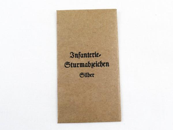 Verleihungstüte für Infanterie Sturmabzeichen Silber (418)