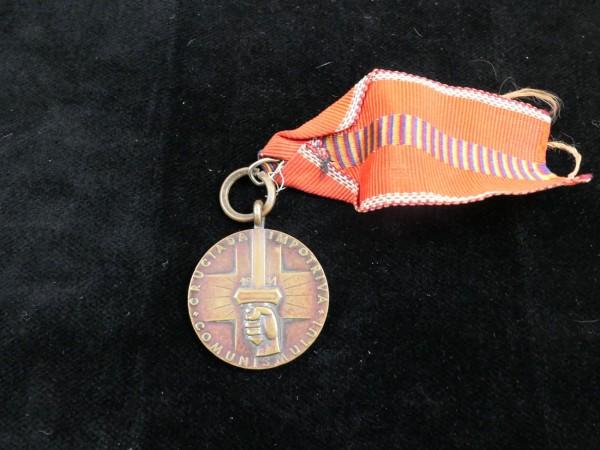 Medaille / Erinnerungsmedaille an den Kreuzzug gegen den Kommunismus 1941