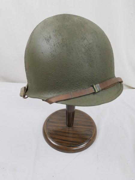 US Army WW2 M1 Steel pot helmet Stahlhelm Glocke + Liner Innenhelm