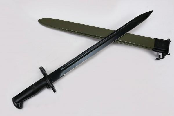 WWII Bajonett für M1 Garand Messer Kampfmesser mit Scheide