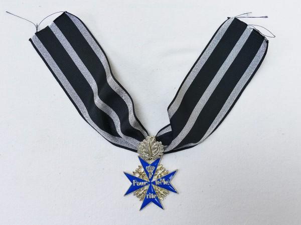 Orden Pour le Mérite mit Eichenlaub am Band / Blauer Max Gfm Erwin Rommel