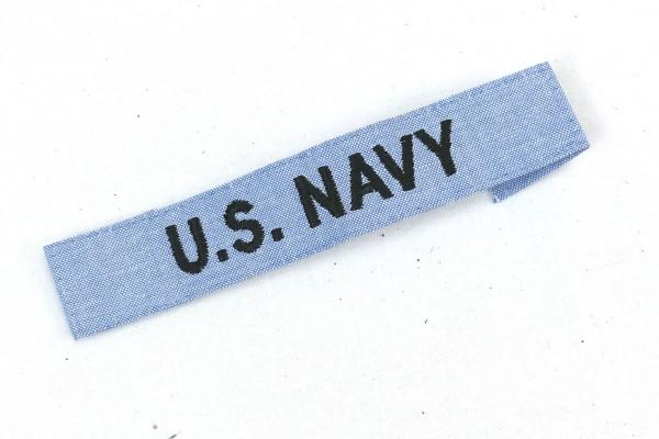 U.S. Navy Patch Combat Badge - US Stoffabzeichen Schriftzug Aufnäher