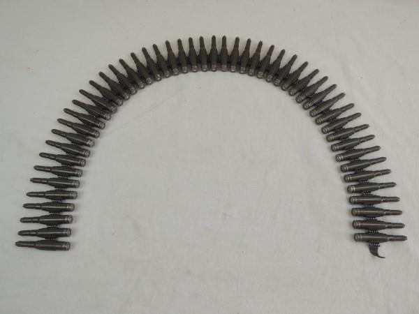 MG Gurt BW 7,62 mm mit 50 Schuß delaborierten Platzpatronen DEKO