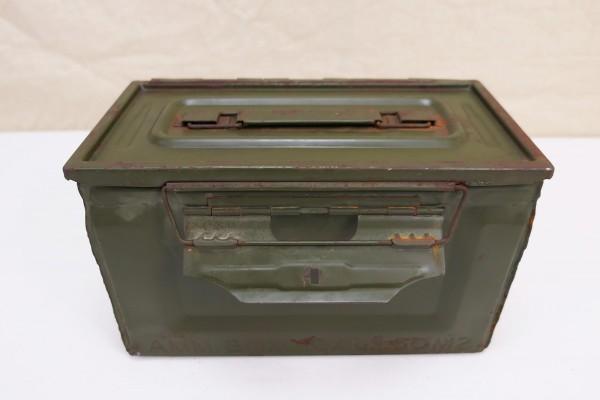 WW2 US Army Ammunition Box CAL. 50 M2 Munitionskiste Ammo Metallkiste original #4