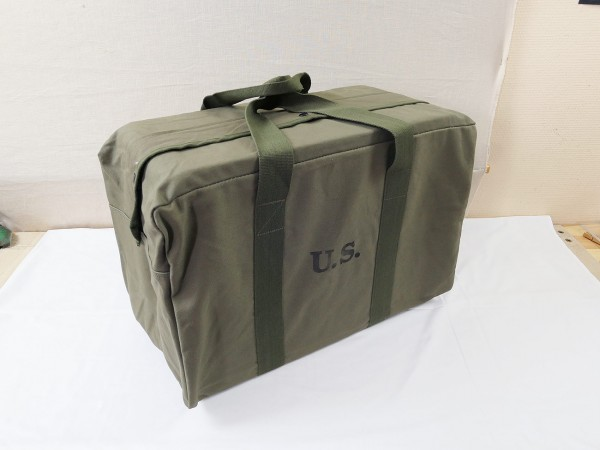 US WW2 JEEP GI Kit Stuff Bag Canvas / Reise Tasche Overnight Bag Weekender groß