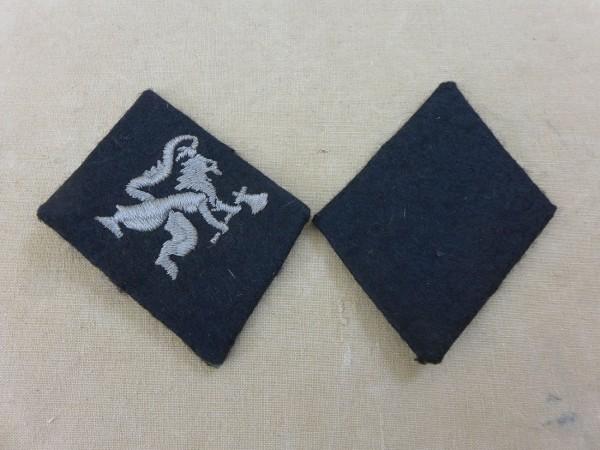 Kragenspiegel Waffen SS Freiwilligen Division Norwegen Mannschaften