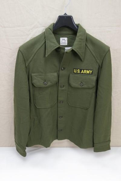 US ARMY Shirt Field-Wool Vintage Oliv OG-108 Medium Vietnam Cold Weather