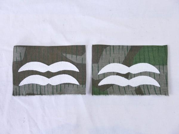 Luftwaffe Dienstgrad Abzeichen UNTER FELDWEBEL auf TARNSTOFF Knochensack Fallschirmjäger
