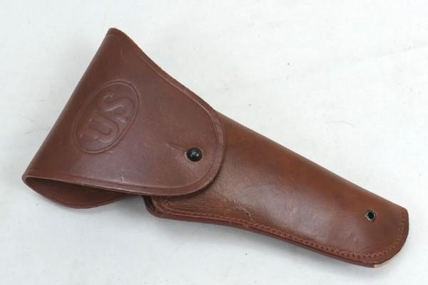 US Colt 1911 Pistolen Holster braun Lederholster
