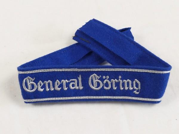 Ärmelband General Göring Mannschaften gestickt