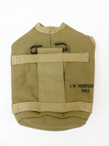 US Paratrooper Feldflaschenbezug cover field canteen Bezug Feldflasche (Brab)