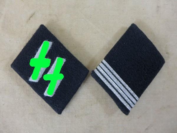 Waffen Elite Kragenspiegel SS Rottenführer (Obergefreiter)