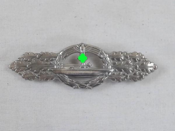 Kriegsmarine U-Boot Frontspange Spange Stufe Silber