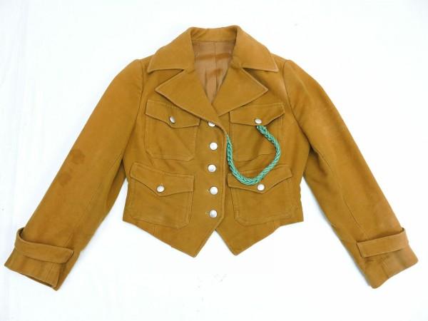 WW2 BRAUNE BDM Kletterweste Bluse Führerin Gefolgschaft mit Führerschnur