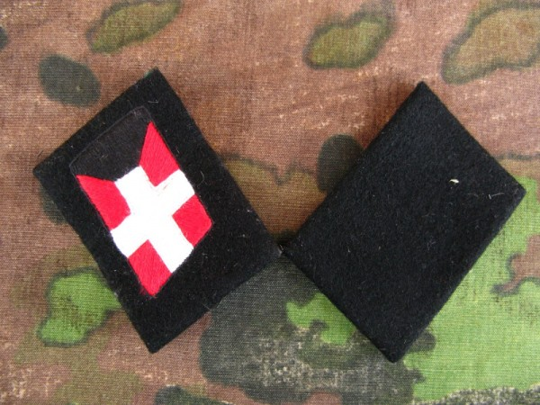 Elite Kragenspiegel XX Panzgren . Reg . Danmark