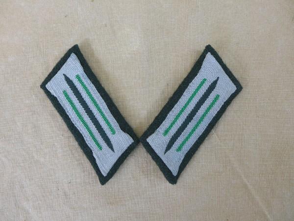 Wehrmacht Grenadier Kragenspiegel Heer Mannschaften auf M36 Unterlage