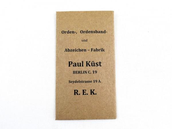 Universelle Verleihungstüte Paul Küst Berlin (418)