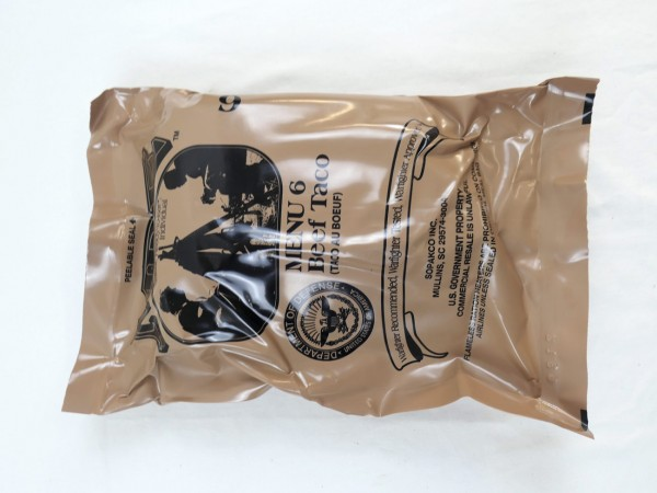 US Army MRE Menue 6 / Meal - Ready to eat Individual inspiziert bis 11/2019