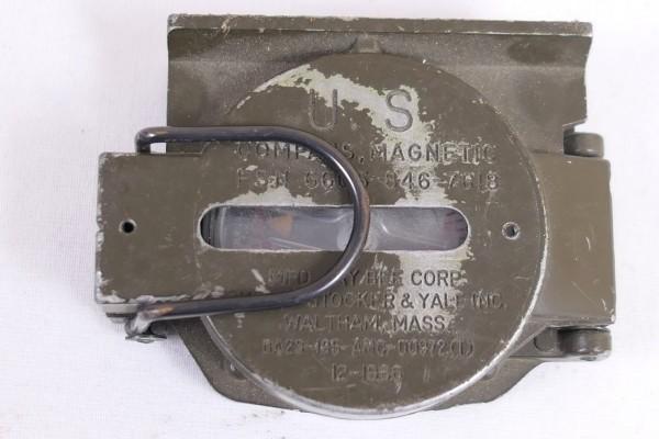 Original US Army Magnetic Compass 1966 Vietnam Ära Kompass