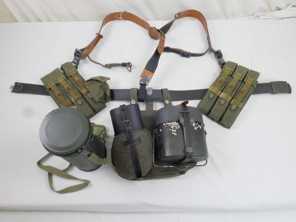 Koppelzeug Set MP38 MP40 Wehrmacht Heer Koppellänge 115 cm Y-Riemen