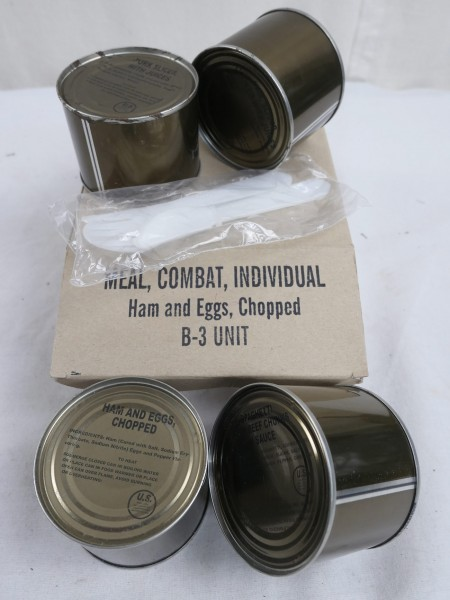 US Army Field Ration Meal Combat Individual MRE B-3 Unit