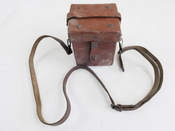 US ARMY WW2 M4 Sight 60mm Mortar & Carrying Case M14 Optik Mörser mit Leder Behälter