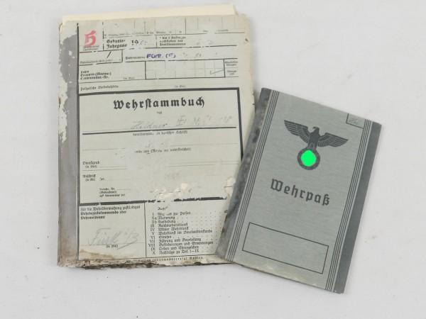 Wehrstammbuch mit Soldbuch und Gesundheitsblatt 1937