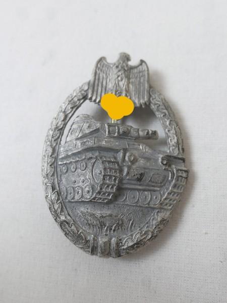 Panzerkampfabzeichen Stufe silber hohl geprägt