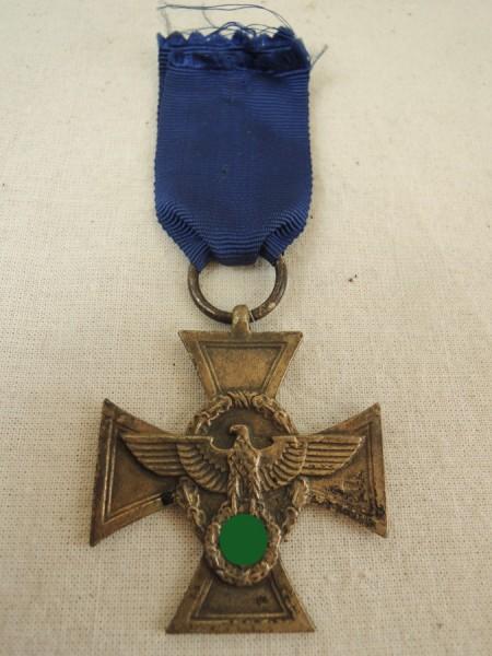 Dienstauszeichnung der Polizei 2. Stufe für 18 Jahre 1938
