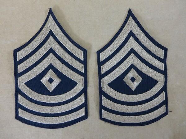 US ARMY WW2 Ranks Dienstgradabzeichen First Sergeant Uniform Rang Abzeichen