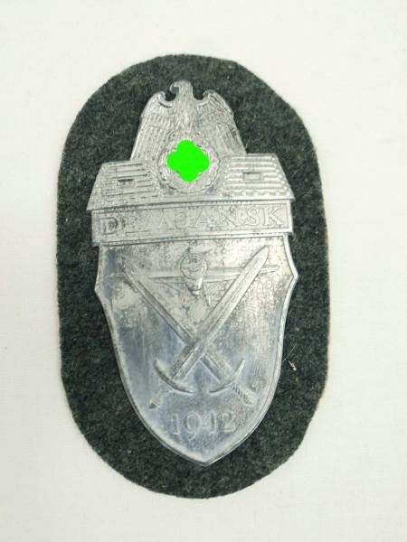 Wehrmacht Demjansk 1942 Ärmelschild Demjanskschild für Feldbluse