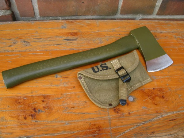 US Army Axt und Cover