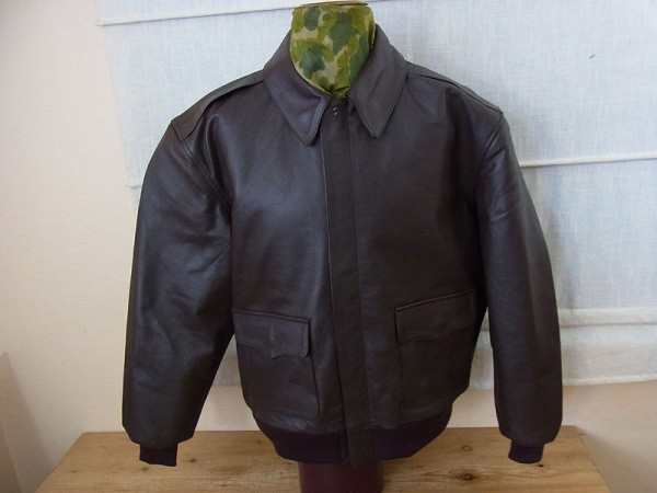 US Army A2 Flight Jacket USAAF Fliegerjacke A-2