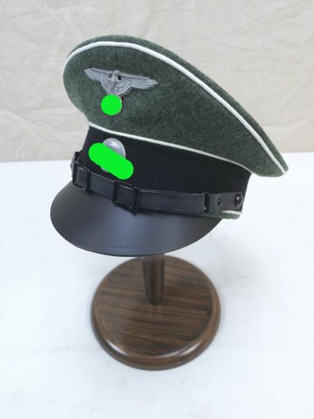 WSS Waffen Elite Schirmmütze - versilberte Effekten Gr.58