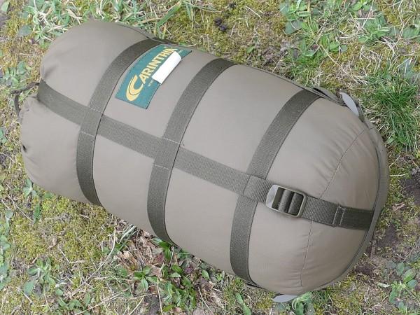CARINTHIA Mumien Schlafsack oliv TROPEN 200 Survival mit Moskitonetz (318)